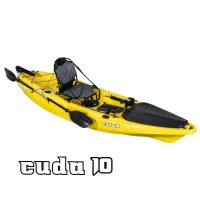 Cuda 10 paddle fishing kayak