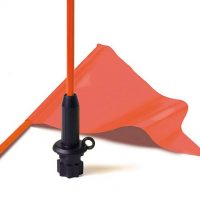 FLAG WHIP & PENNANT BLACK BASE